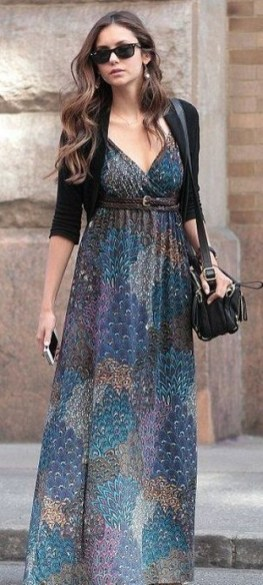 50 Dresses with Belt Styles Ideas 18