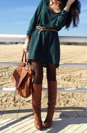 50 Dresses with Belt Styles Ideas 24