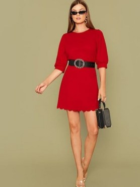 50 Dresses with Belt Styles Ideas 27