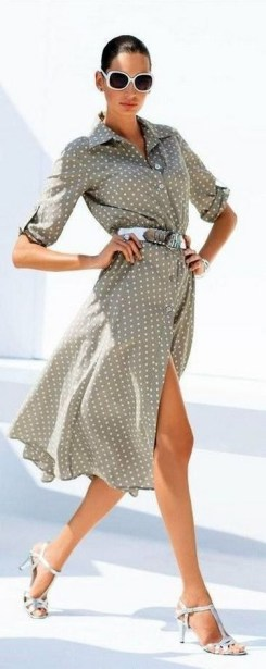 50 Dresses with Belt Styles Ideas 33