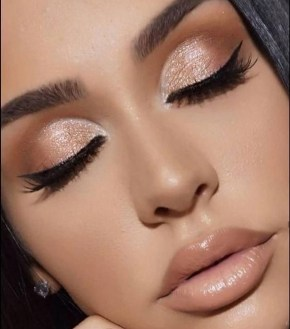 50 Shimmering Eye Makeup for Party Ideas 14