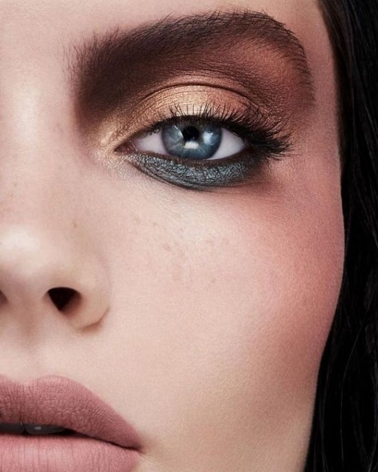 50 Shimmering Eye Makeup for Party Ideas 43