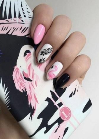 53 Ideas Fresh New Look Tropical Nail Designs 02