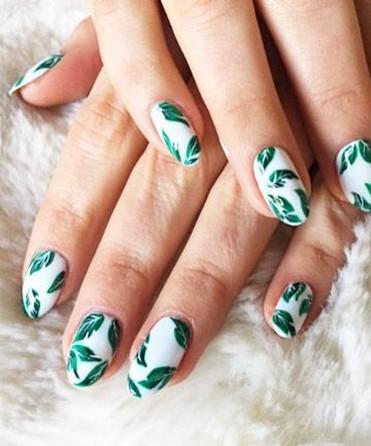 53 Ideas Fresh New Look Tropical Nail Designs 05
