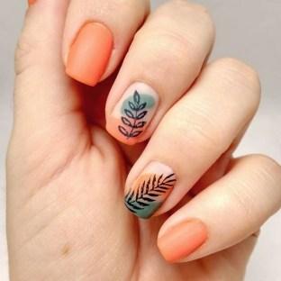 53 Ideas Fresh New Look Tropical Nail Designs 08