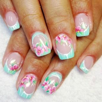 53 Ideas Fresh New Look Tropical Nail Designs 14