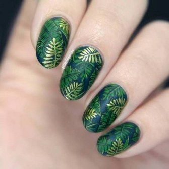53 Ideas Fresh New Look Tropical Nail Designs 17