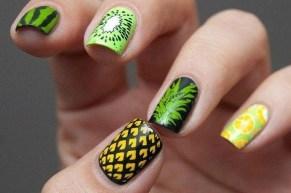 53 Ideas Fresh New Look Tropical Nail Designs 19