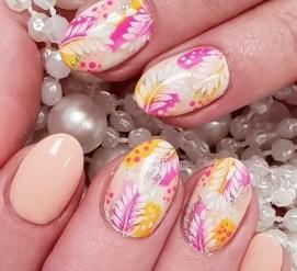 53 Ideas Fresh New Look Tropical Nail Designs 22