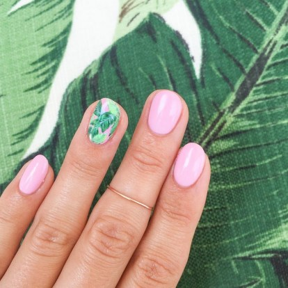 53 Ideas Fresh New Look Tropical Nail Designs 29