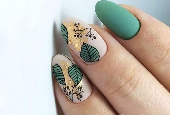 53 Ideas Fresh New Look Tropical Nail Designs 31