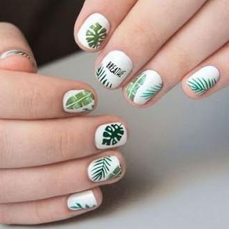 53 Ideas Fresh New Look Tropical Nail Designs 47