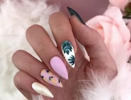 53 Ideas Fresh New Look Tropical Nail Designs 49