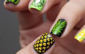 53 Ideas Fresh New Look Tropical Nail Designs 51