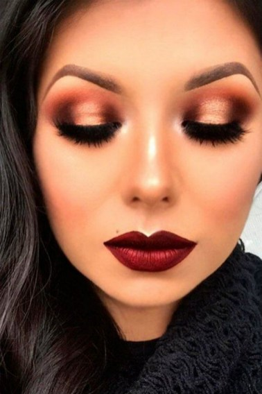 60 Lovely Makeup For Valentines Day Look Ideas 07