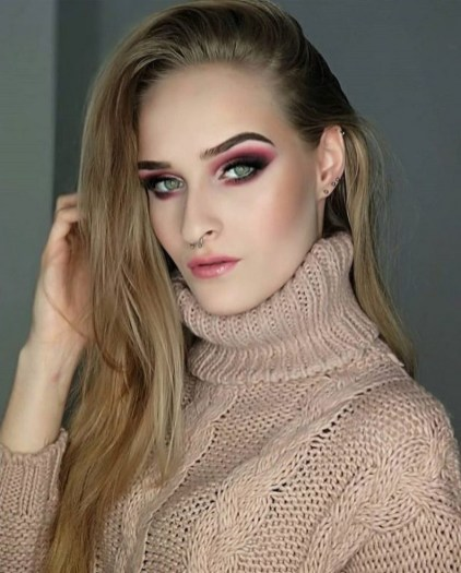 60 Lovely Makeup For Valentines Day Look Ideas 12