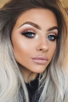 60 Lovely Makeup For Valentines Day Look Ideas 34