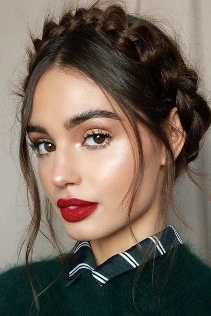 60 Lovely Makeup For Valentines Day Look Ideas 37