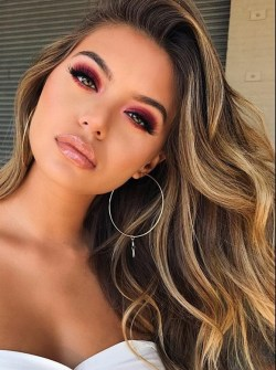 60 Lovely Makeup For Valentines Day Look Ideas 55