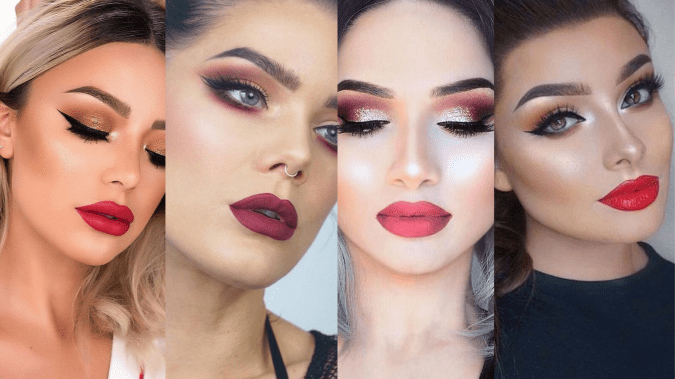 60 Lovely Makeup For Valentines Day Look Ideas