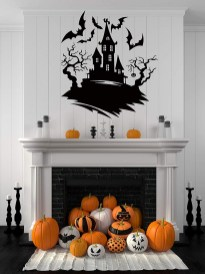 60 Nice Home Decor to Make Your House Stand Out This Halloween 14