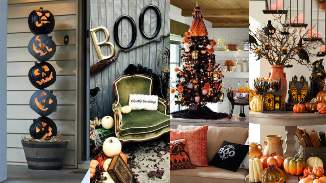 60 Nice Home Decor to Make Your House Stand Out This Halloween