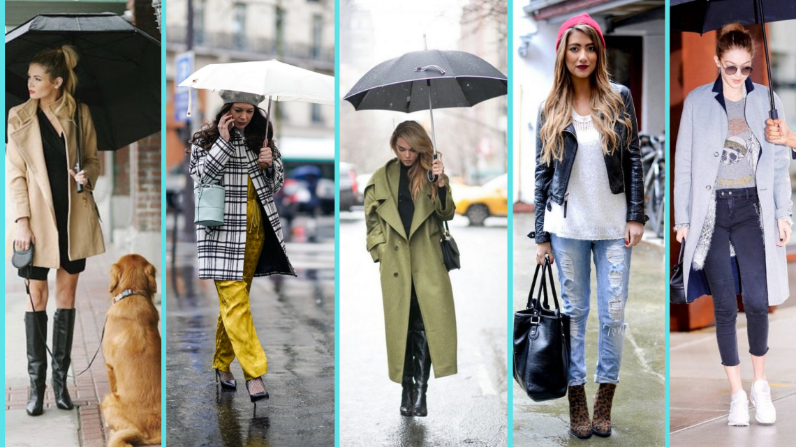 50 Fabulous Rainy Days Outfits for Active Women You Need to Copy