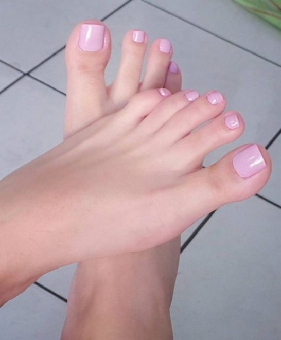 50 Ideas lovely Pink Toe Nail Art for Valentines Day 07