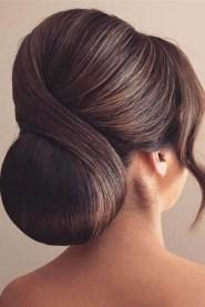 50 Stunning Classy Clean Bun Hairstyles Ideas 46