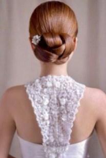 50 Stunning Classy Clean Bun Hairstyles Ideas 48