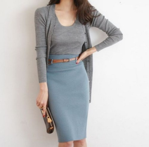 60 Stylish Cardigan Outfit Inspiration for Work 14