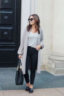 60 Stylish Cardigan Outfit Inspiration for Work 20