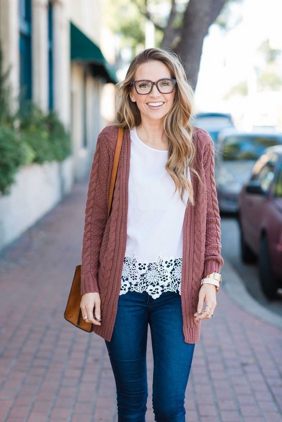 60 Stylish Cardigan Outfit Inspiration for Work 32