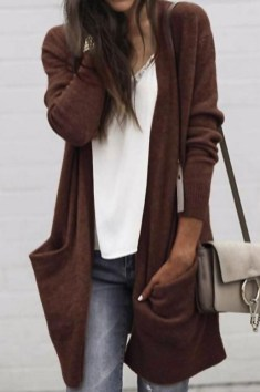 60 Stylish Cardigan Outfit Inspiration for Work 50