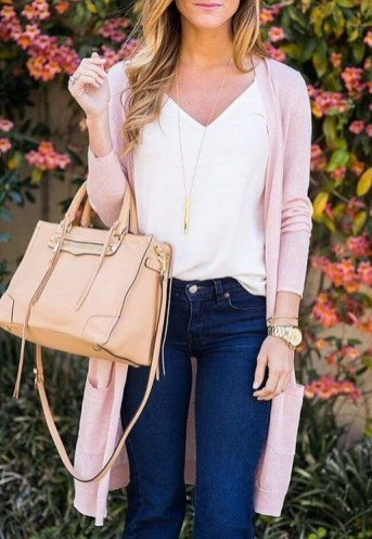 60 Stylish Cardigan Outfit Inspiration for Work 52