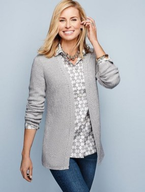 60 Stylish Cardigan Outfit Inspiration for Work 53