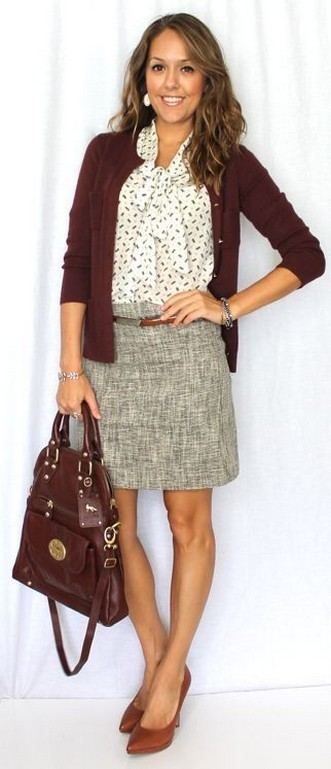 60 Stylish Cardigan Outfit Inspiration for Work 58