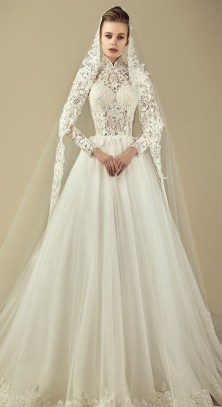 60 Victorian Styles Neckline for Wedding Dress Ideas 06