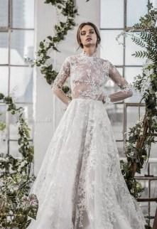 60 Victorian Styles Neckline for Wedding Dress Ideas 29