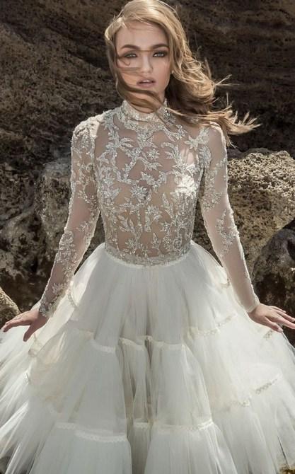 60 Victorian Styles Neckline for Wedding Dress Ideas 34
