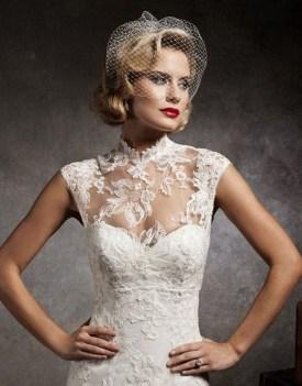 60 Victorian Styles Neckline for Wedding Dress Ideas 54
