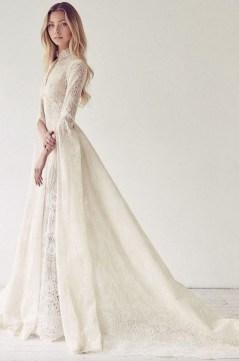 60 Victorian Styles Neckline for Wedding Dress Ideas 63