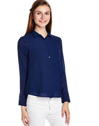 Van Heusen Women's Body Blouse Shirt