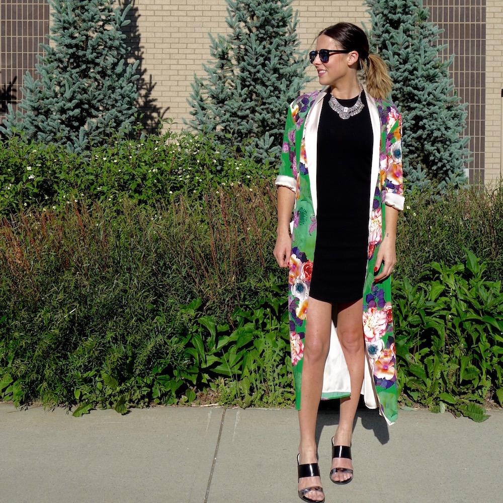 zara, zara kimono, silk kimono, jack jones sunglasses
