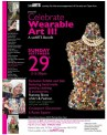For more information on this event: http://searts.org/wp/celebrate-wearable-art-ii-2013-tickets-on-sale-now/