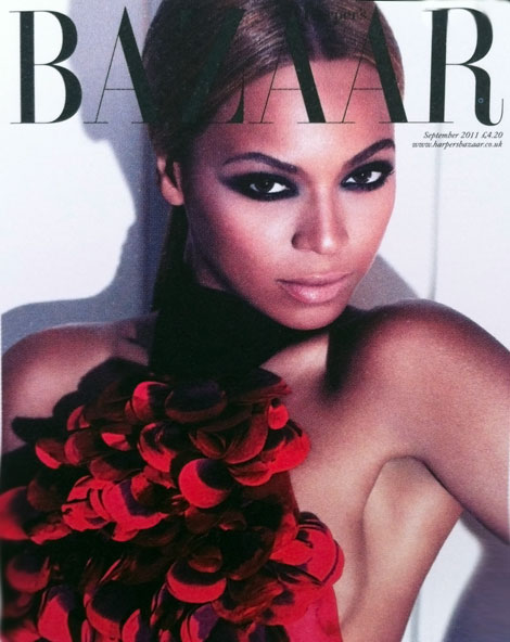 Beyonce Harper s Bazaar September 2011 cover
