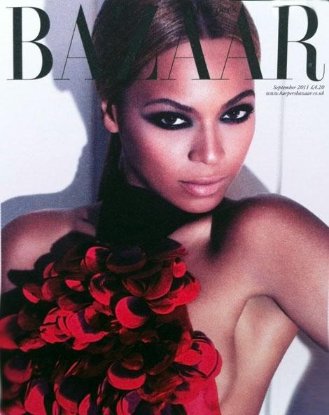 Beyonce Harper s Bazaar September 2011 cover
