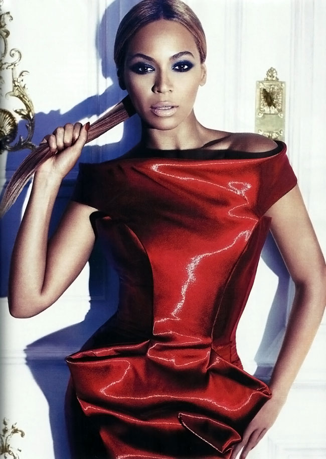 Beyonce Harpers Bazaar September 2011 photo
