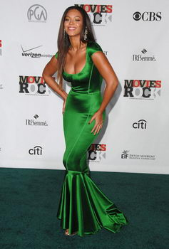 Beyonce Green Dress Conde Nast