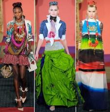 Lacroix-Entwürfe aus seiner Frühjahr/Sommer 2009 Haute Couture Show
